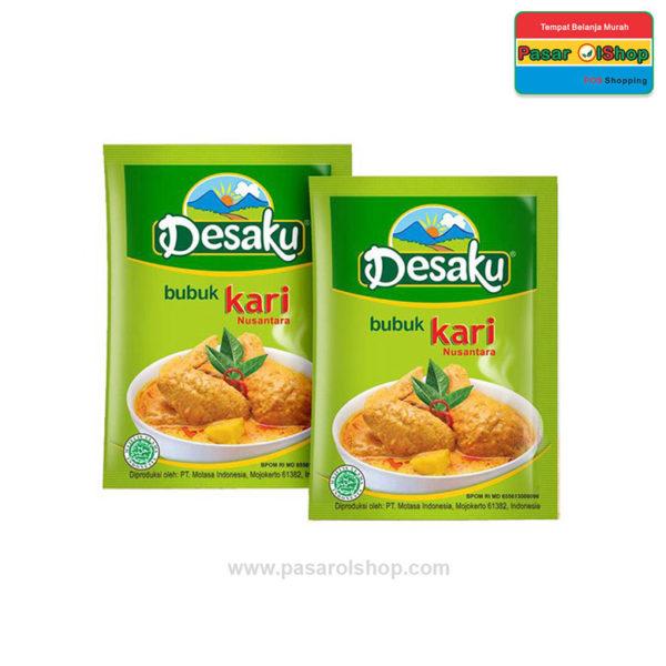 Desaku Bubuk Kari Nusantara 12 gram pasarolshop 1- Pesan Di Antar | Buah Sayur Lauk Sembako