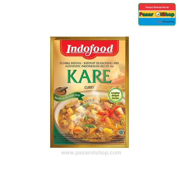 Indofood Bumbu Instan Kare 45 gram pasarolshop 1- Pesan Di Antar | Buah Sayur Lauk Sembako