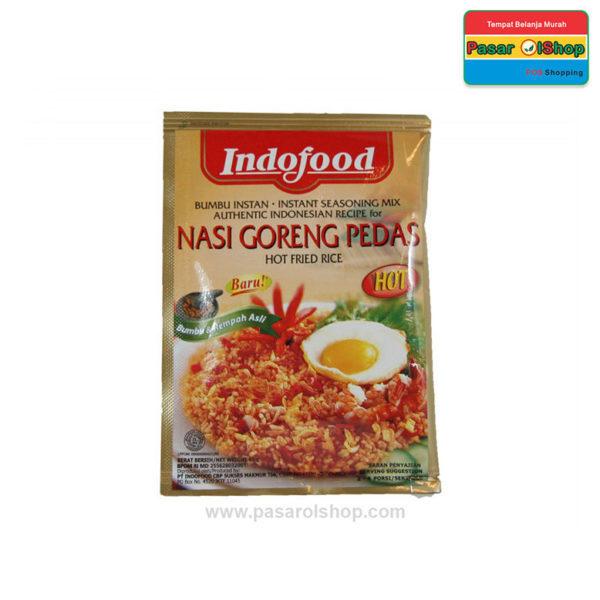 Indofood Bumbu Instan Nasi Goreng Pedas 45 gram pasarolshop 1- Pesan Di Antar | Buah Sayur Lauk Sembako