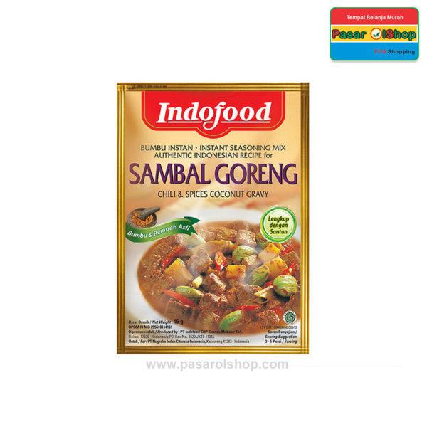 Indofood Bumbu Instan Sambal Goreng 45 gram pasarolshop 1- Pesan Di Antar | Buah Sayur Lauk Sembako