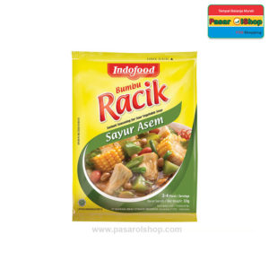 Indofood Bumbu Racik Sayur Asem 20 gram pasarolshop 1- Pesan Di Antar | Buah Sayur Lauk Sembako