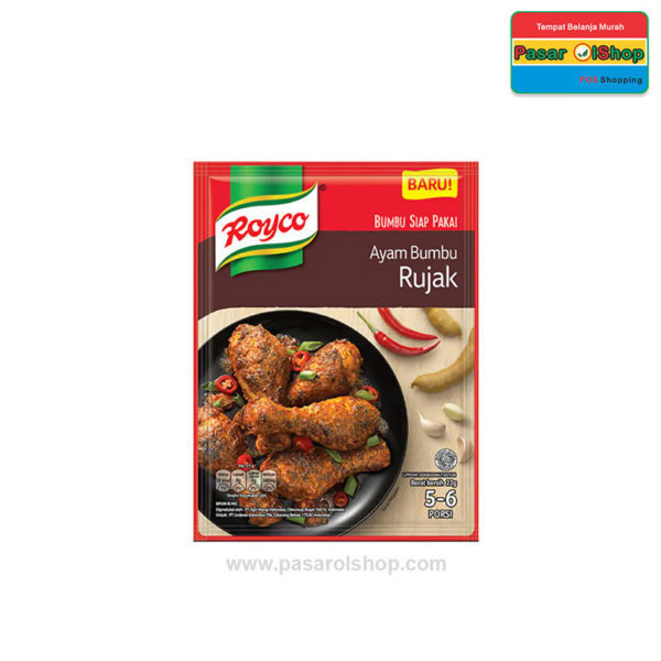 Royco Ayam Bumbu Rujak 17 gram pasarolshop 1- Pesan Di Antar   Buah Sayur Lauk Sembako