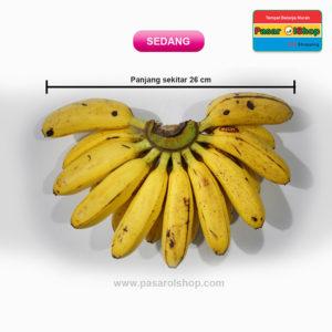 pisang mas kirana ukuran SEDANG agro buah pasarolshop 2- Pesan Di Antar | Buah Sayur Lauk Sembako