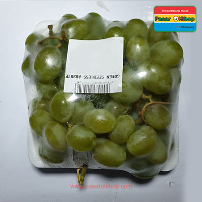 anggur green seedless aussie 2 agro buah pasarolshop-buah sayur online jogja