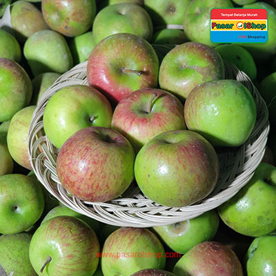 apel malang merah grosir agro buah pasarolshop- Pesan Di Antar | Buah Sayur Lauk Sembako