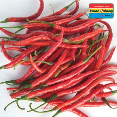 cabai keriting merah eceran agro buah pasar olshop- Pesan Di Antar | Buah Sayur Lauk Sembako