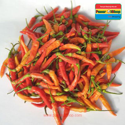 cabai rawit merah eceran agro buah pasar olshop- Pesan Di Antar | Buah Sayur Lauk Sembako